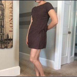 👜Brown GAP Wrap Dress